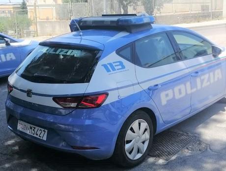 auto polizia 123456